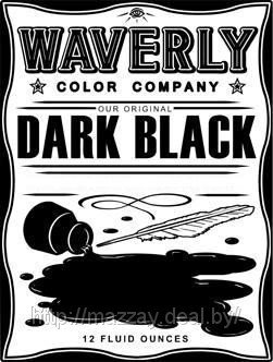 Краска для татуировки Waverly «Dark Black»