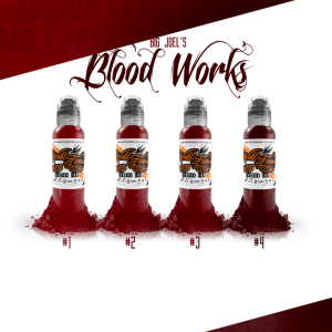 "Набор красок World Famous ""Big Joel's Blood Works Color"""